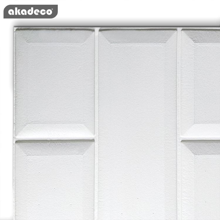 akadeco colorful self adhesive anti-collision for children's  room living room 3D brick XPE foam sticker