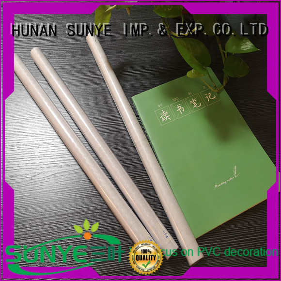 SUNYE prestantious clear plastic book covers protective loft