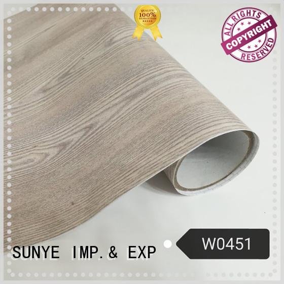 newly wood grain vinyl wrap dense in-green secretary room