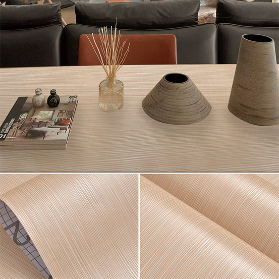 design wood effect vinyl wrap conjunction dining room SUNYE