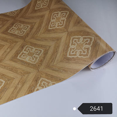PVC Wooden Adhesive Film For Ceiling