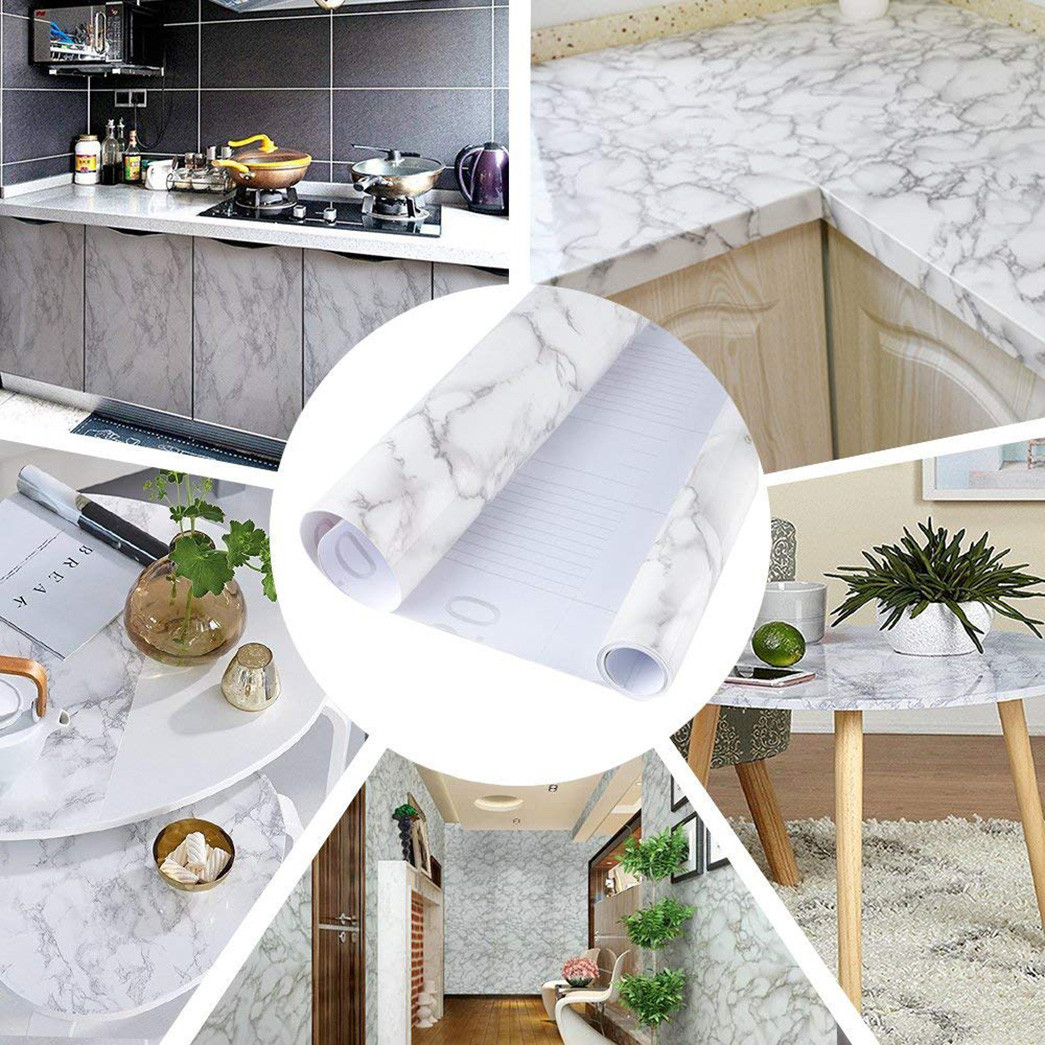 SUNYE exquisite marble sticker paper research kitchen-6