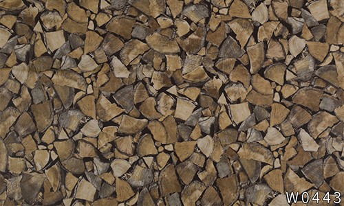 environmental wood grain wallpaper adhesive widely-use electrical room-3