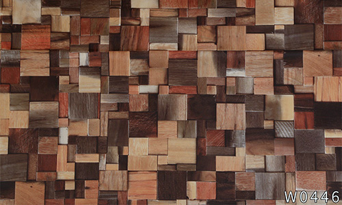 environmental wood grain wallpaper adhesive widely-use electrical room-5