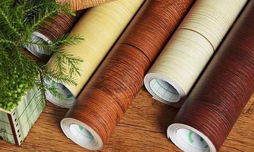 SUNYE ceiling wood grain contact paper testing cellar-4