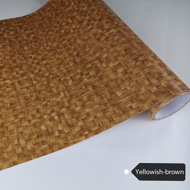PVC Bamboo Patterns Self Adhesive Vinyl Film