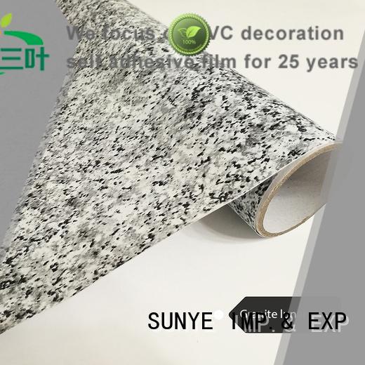 SUNYE advanced granite contact paper for countertops certifications garden