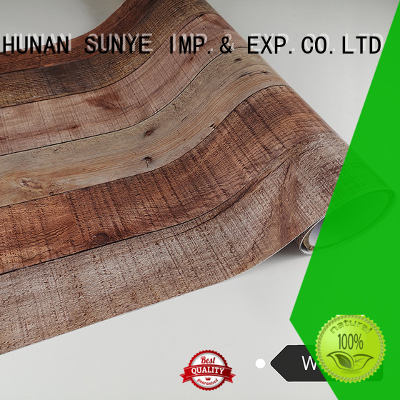 SUNYE plank wood grain contact paper equipment electrical room