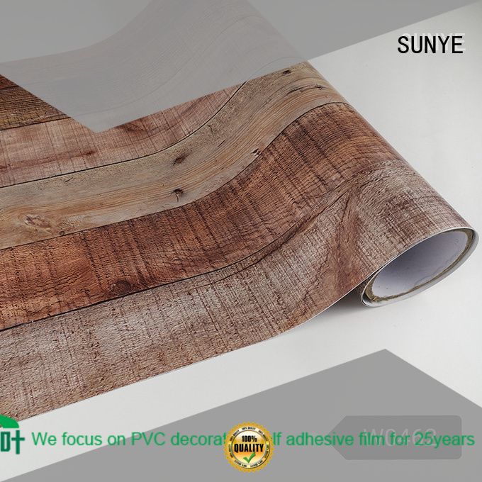humanized wood grain contact paper knitting amelioration hall way