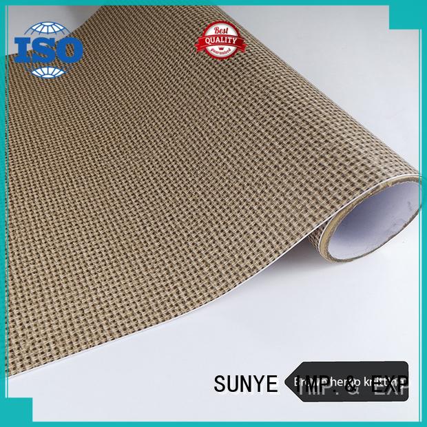 SUNYE durable faux wood wallpaper management workshop