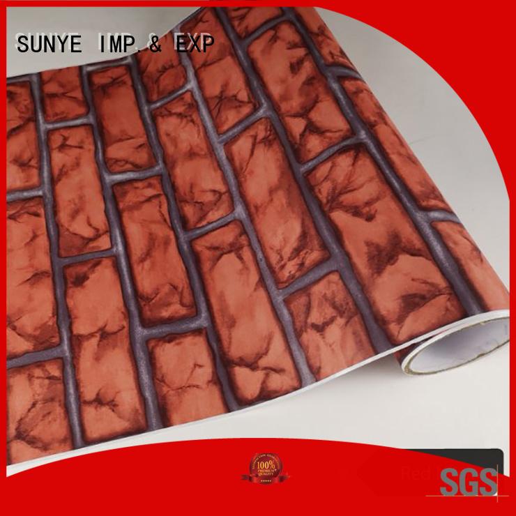 SUNYE reliable marble self adhesive paper granite cellar