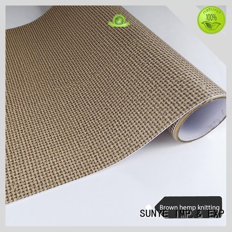 SUNYE newly wood style wallpaper adhesive workshop