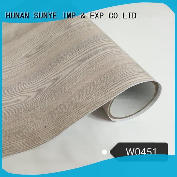 SUNYE environmental faux wood wallpaper conjunction workshop