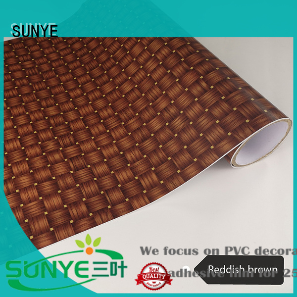 SUNYE adhesive wood panel effect wallpaper in-green workshop