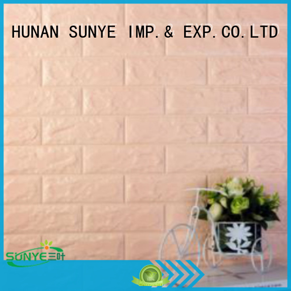 SUNYE 4fbbrick 3D WALL PAPER protection facilities