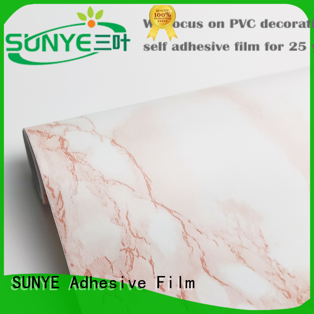 SUNYE cheap marble sticky back paper company for kitchen