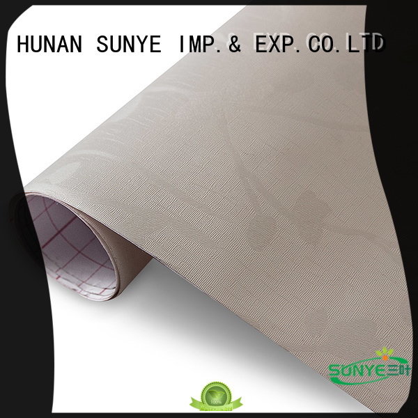 SUNYE hot selling textured self adhesive wallpaper supply for living room
