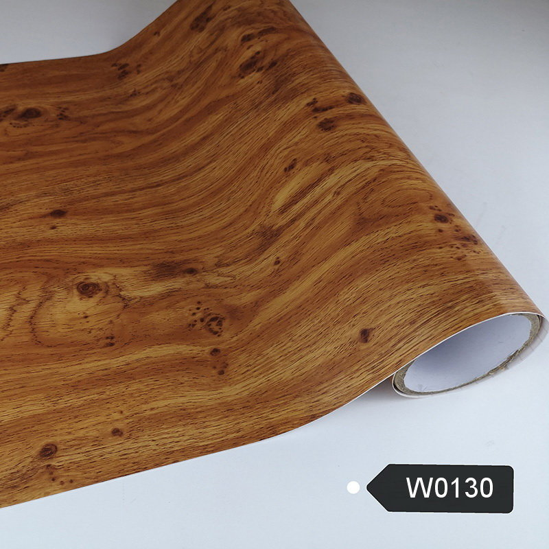 PVC Wooden Grain Self Adhesive Film