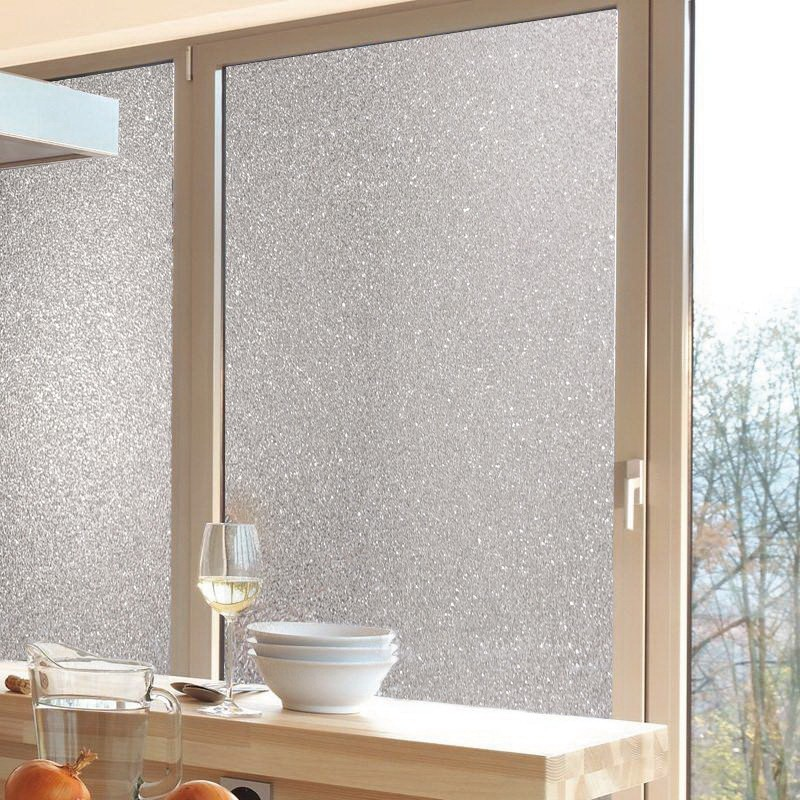 SUNYE bathroom window film effectively city