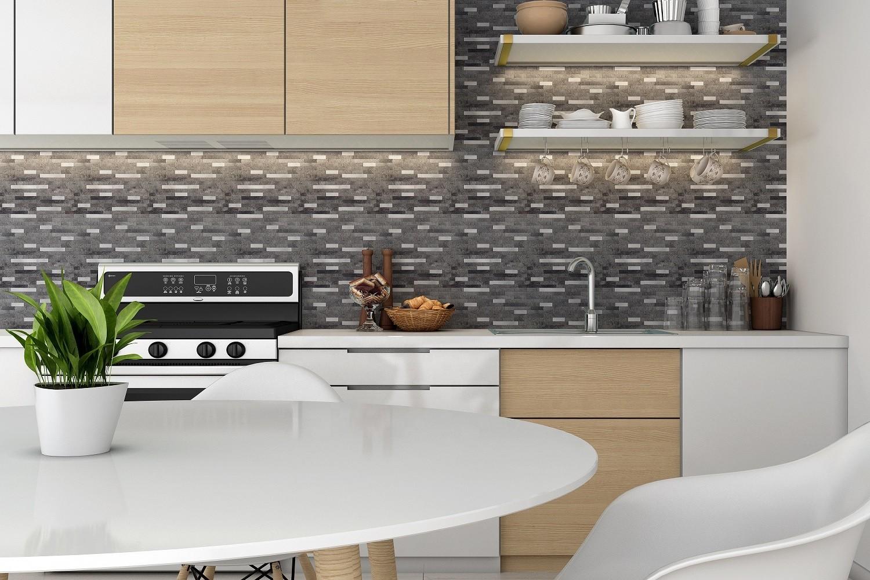 professional mosaic metallic tiles with good price for kitchen decor-3