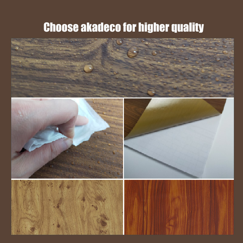 SUNYE contact paper wood grain suppliers for dining room-2