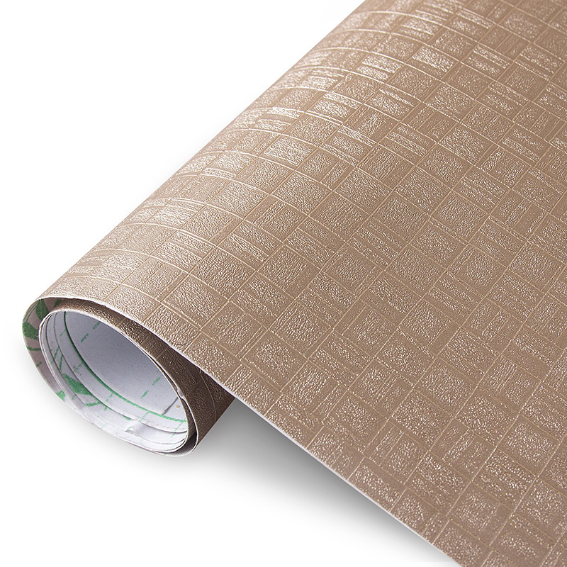 PVC wallpaper sticker self adhesive film