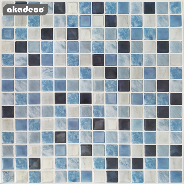 new arrival 3d wall tiles suitable for decoration kitchen 3D stereo effect fresh color peel and stick tiles