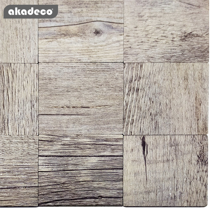 akadeco  2020 new design self adhesive film metal mosaic and easy tile oil-proof wall sticker for kitchen