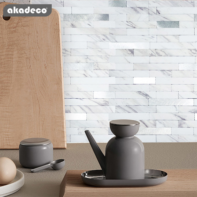 3D metal mosaic and easy tile