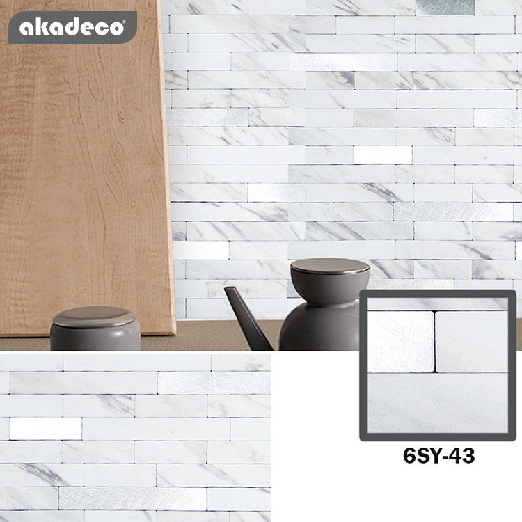 latest metallic look wall tiles suppliers for kitchen decor-1