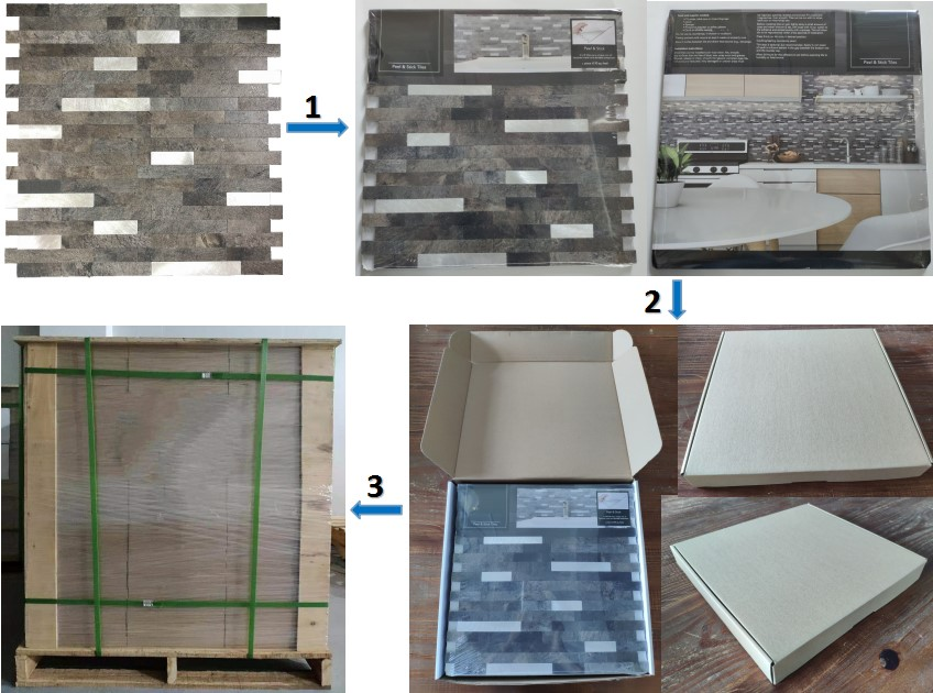 latest metallic look wall tiles suppliers for kitchen decor-5