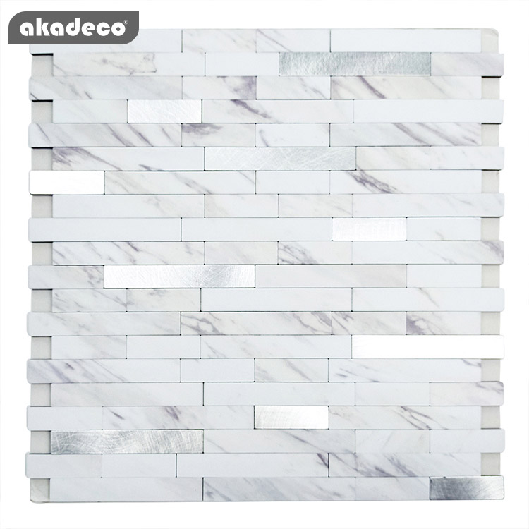 latest metallic look wall tiles suppliers for kitchen decor-2