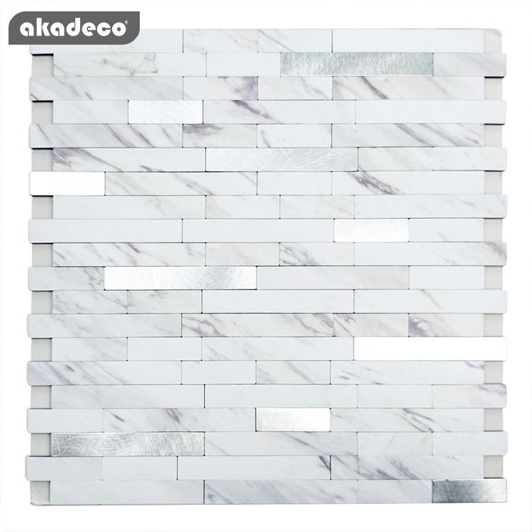 latest metallic look wall tiles suppliers for kitchen decor