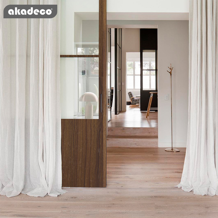 akadeco PVC Material Furniture Decoration Foil Wood grain for home decoration