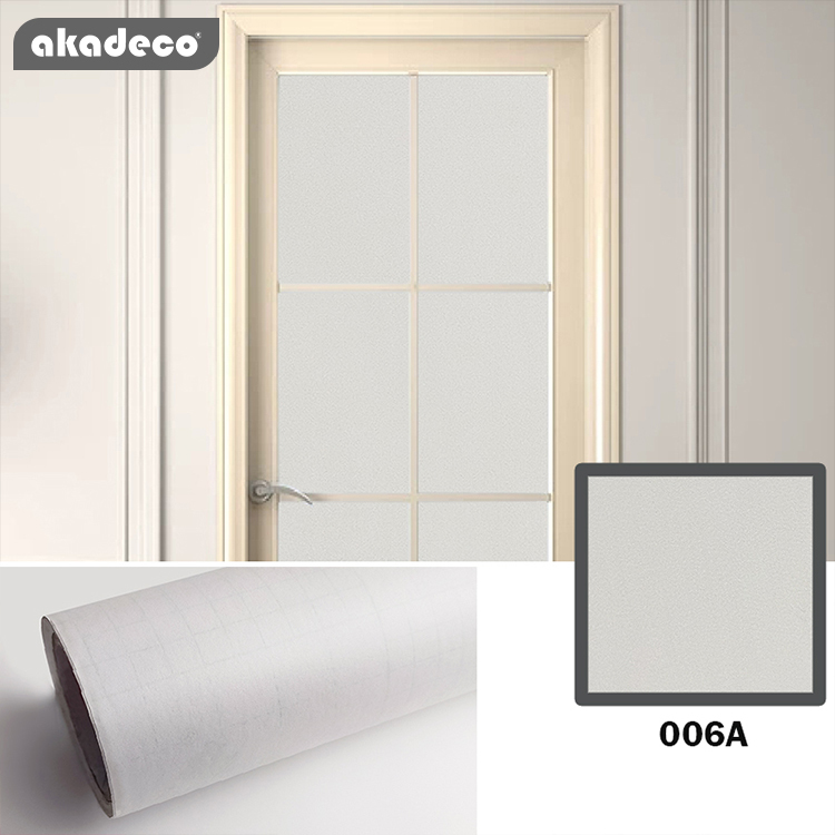 High quality protective embossed pvc self adhesive film gloss surface contact paper for home decor window decor
