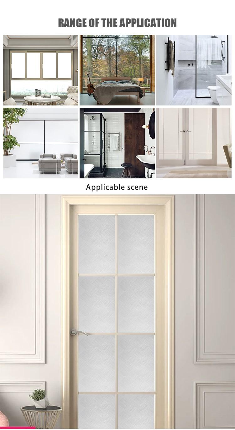 SUNYE glass adhesive film directly sale for living room-4