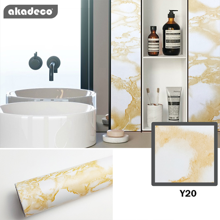 marble contact paper peel and stick wallpaper yellow white marble contact paper self adhesive waterproof wallpaper easily removable for furniture cabinets countertop kitchen living room