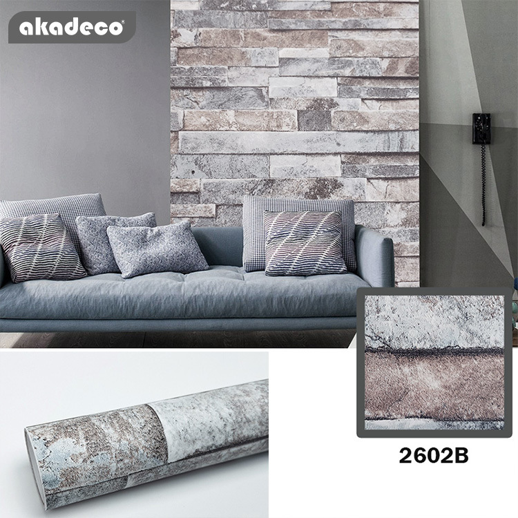self adhesive brick paper brick wallpaper faux textured brick look removable wall paper contact paper or shelf paper