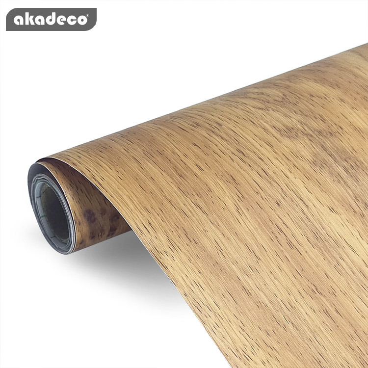 Classic simple style wooden grain mixed color 3d wallpaper pvc waterproof Furniture renovation wood color