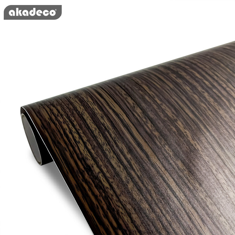 Top selling pvc wooden clear texture laminate film wooden self adhesive contact paper for home decor
