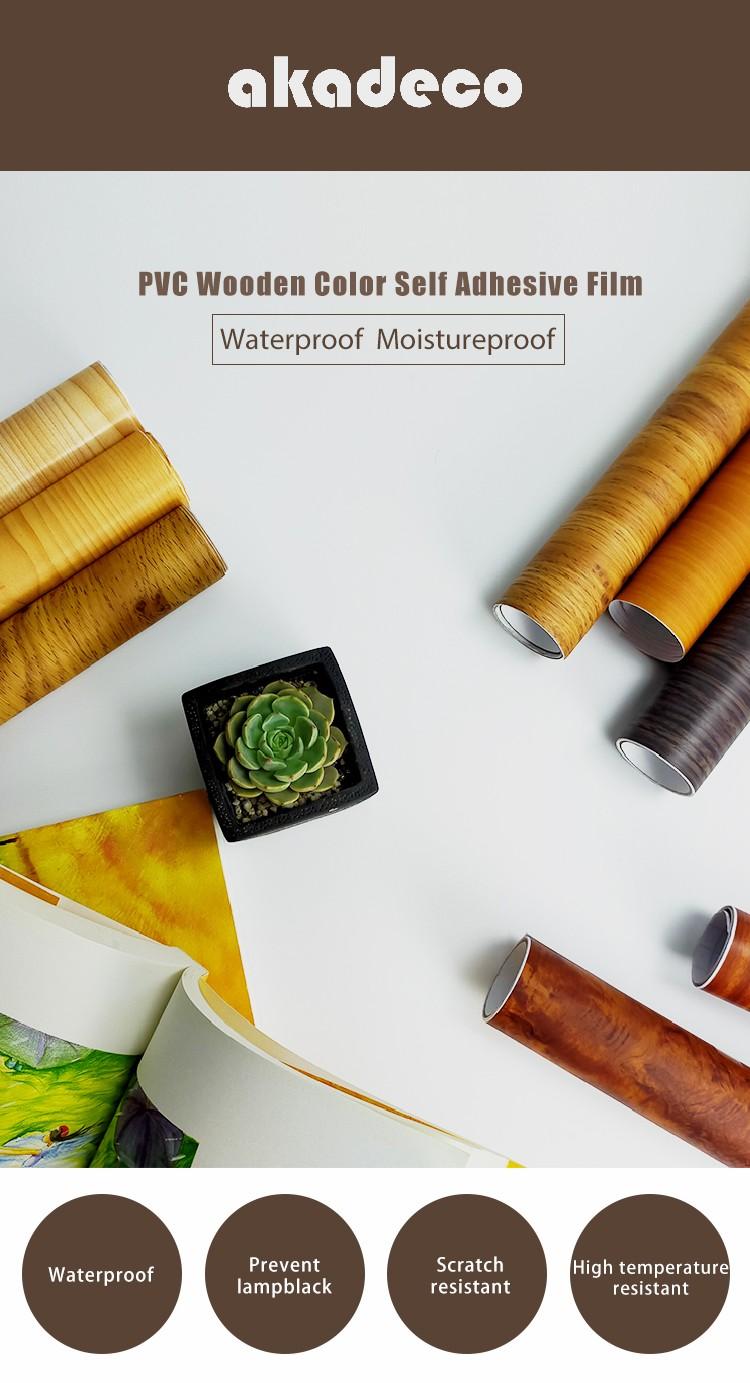 SUNYE wood grain paper roll company for electrical room-1