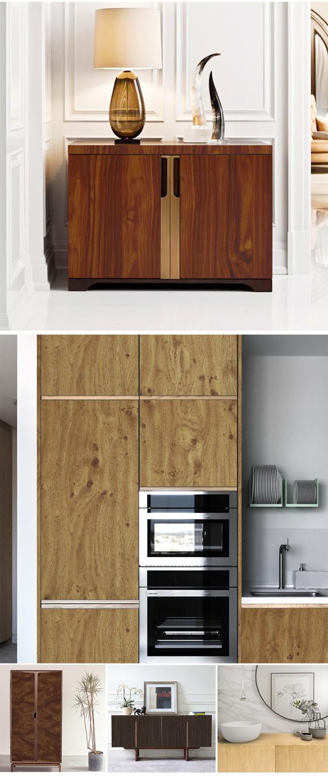 SUNYE wood grain paper roll company for electrical room-5