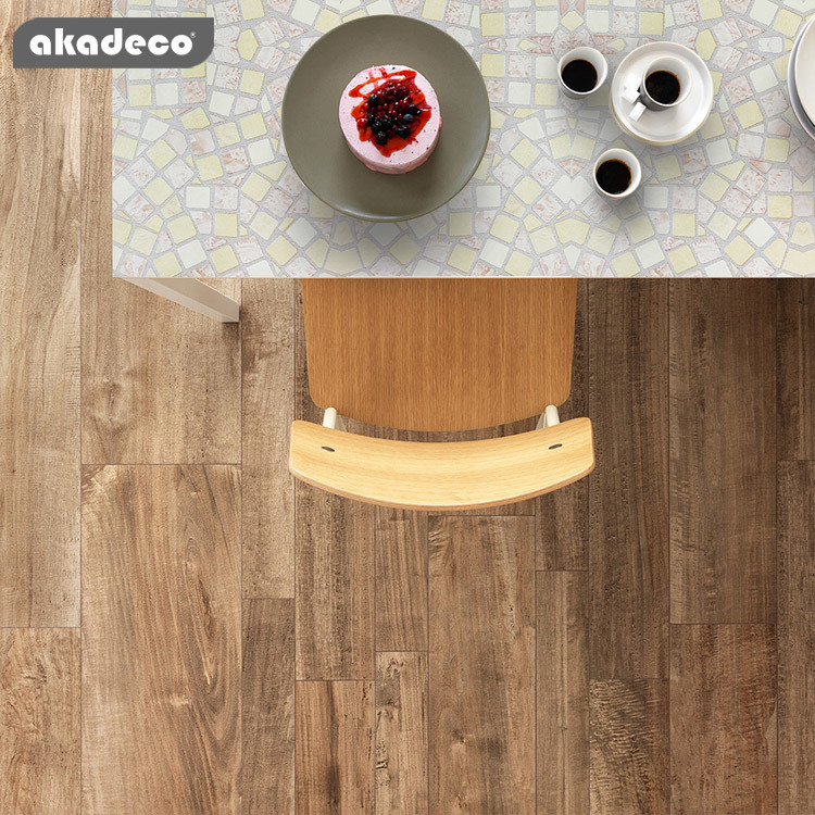 akadeco high quality  wallpaper various color printed PVC self adhesive wallpaper for home decoration