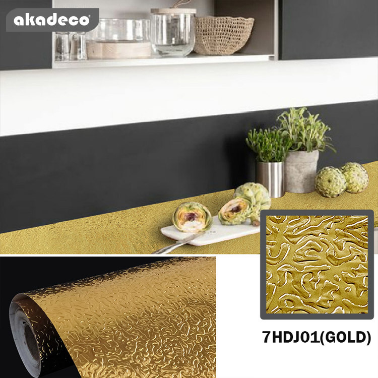 fashionable. akadeco  metallized aluminum self adhesive film making your life healthy & time-saving