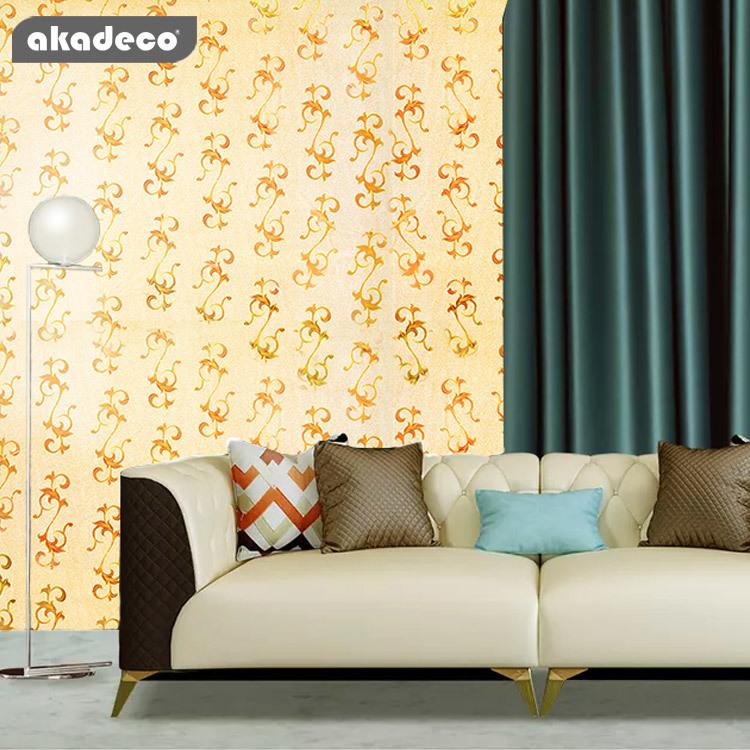 Hot goods PVC Glittering Wallpaper China New Design Fashion Pattern 3d Glitter Wallpaper for Home&Office Renovation