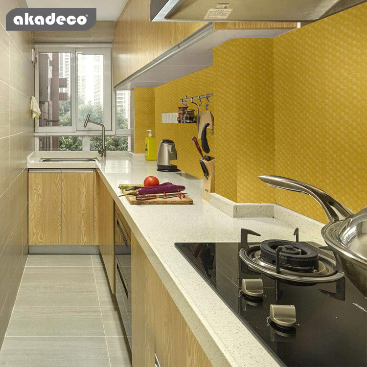 PVC+PE metalliazed aluminum film Hot selling life time transparent for kitchen cabinet