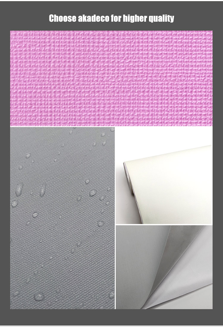 SUNYE best price solid removable wallpaper with good price for shower room-2