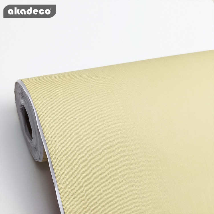 Hot selling self adhesive film plain color PVC film for wall decoration