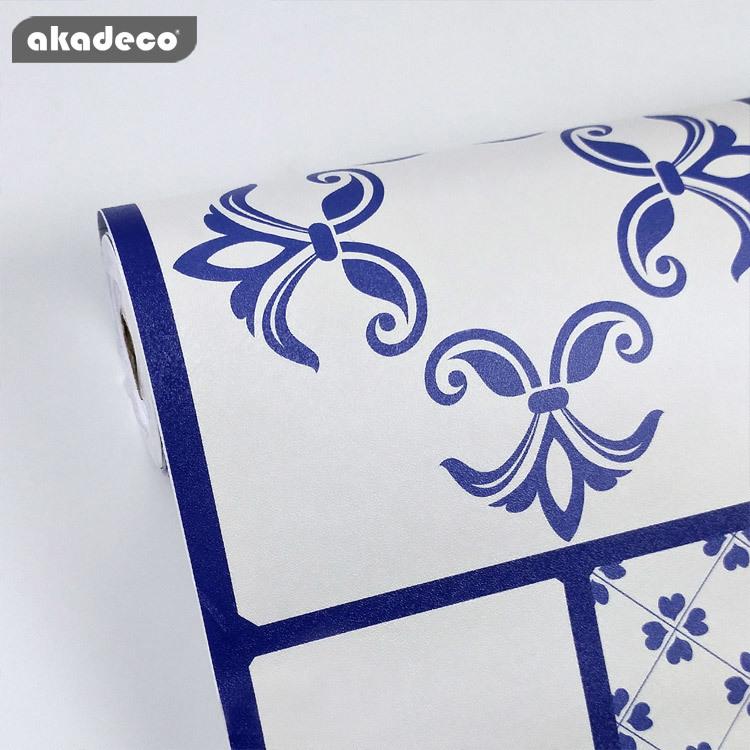 wallpaper stick on Bohemia wallpaper PVC wallpaper PVC decorative contact paper vinyl paper for new renovation