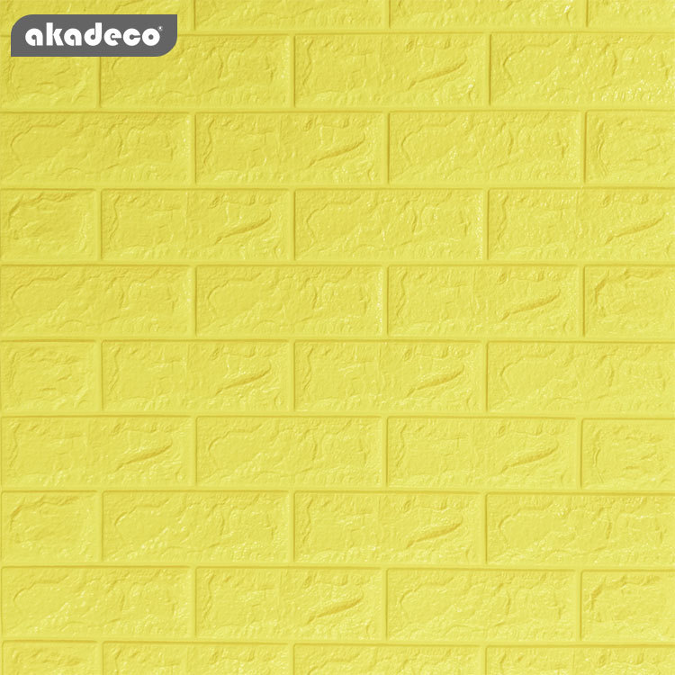 wallpaper 3D XPE foam film 3D wallpaper peel and  stick wall paper stick on wall suitable for children room